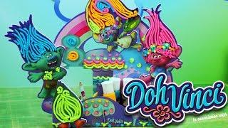 Play Doh Doh Vinci Trolle • Przybornik na biurko • Kreatywne zabawki i tutorial
