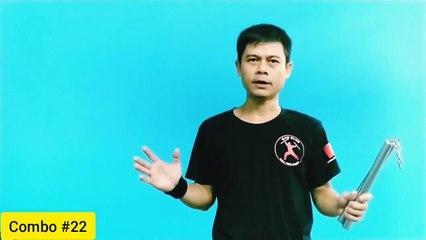 [NUNCHAKU COMBO #22] Hướng dẫn bài biểu diễn côn nhị khúc. #Nunchaku tutorial - www.Kanshop.vn