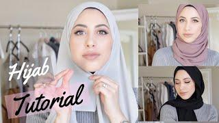 EVERYDAY HIJAB TUTORIAL! Chiffon Hijabs, 3 Hijab Styles