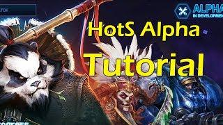 Heroes Of The Storm Alpha: PWNIN THE TUTORIAL