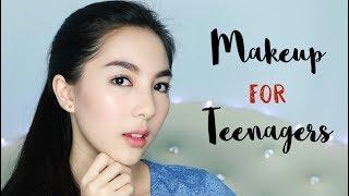 Cute and Fresh Makeup Tutorial for Teenagers (Makeup Remaja)