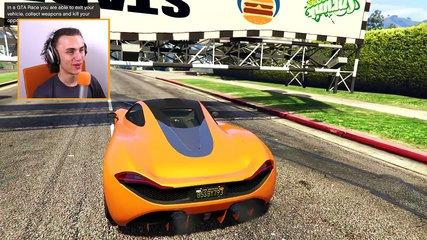 WORLDS HARDEST RACE EVER! (GTA 5 Funny Moments)