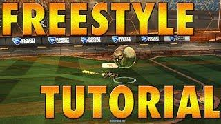 TUTORIAL FREESTYLE (español) - Rocket League