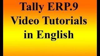 Tally ERP.9 Tutorial English
