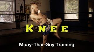 How To Throw A Muay Thai Knee Tutorial - Basic Muay Thai Techniques