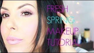 Fresh Spring Makeup Look _ Flawless Face _ Naked 3 Palette