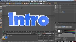 How To Make A Basic Intro In Cinema 4D By Magnus [DANSK]