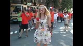 EURO-2012: Holland Fans And Ukrainian Reporter, Funny Video, Kharkiv, 06.2012