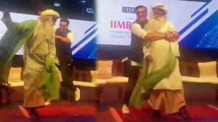 Ranveer Singh's FUNNY dance with Sadguru Vasudev goes viral | FilmiBeat
