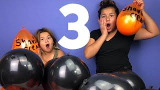 Making Slime With Giant Balloons! Giant Slime Balloon Tutorial Halloween Edition