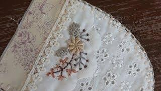 Floral Patchwork Embroidery #2 │ How To DIY Craft Tutorial