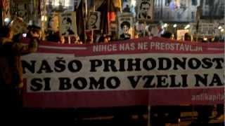 Druga Slovenska Vstaja - Zombi Vstaja - 11.1. 2013.wmv