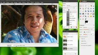 GIMP Tutorial (Thai) : 6  เมื่อ GIMP ทำให้ผมหล่อขึ้น (Uncut Version)