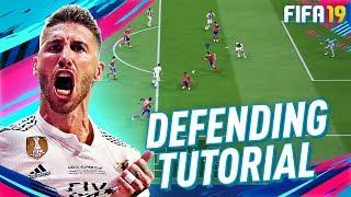 FIFA 19 ULTIMATE DEFENDING TUTORIAL! HOW TO PRESSURE, IMPROVE TACKLES, & INCREASE INTERCEPTIONS!