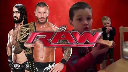 2 Innocent Kids Meet Randy Orton RKO & Seth Rollins Funny vines HD