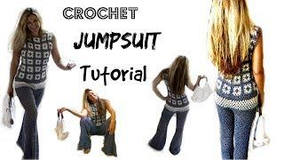 Crochet Jumpsuit Tutorial/ inspired by Olivia Palermo