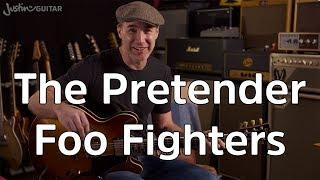 How To Play The Pretender by Foo Fighters Guitar Lesson Tutorial Full Song Play Through Rock