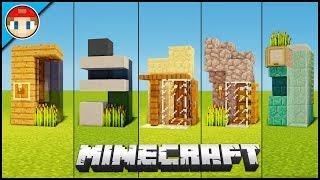 5 Minecraft 2X2 Houses! - Easy Tutorial (You Can Build)