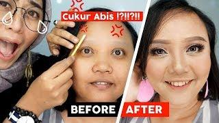 Tutorial Makeup Kondangan | Menyiasati Pipi Tembem jadi Tirus | Nyobain Produk Baru #1