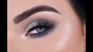 FENTY MOROCCAN SPICE    Blue Green Eye Makeup Tutorial