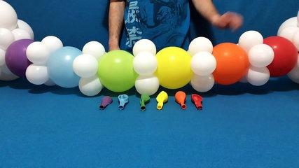 Rainbow Balloon Arch Tutorial!