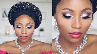 NIGERIAN BRIDAL/PARTY/GELE MAKEUP TUTORIAL | DIMMA UMEH
