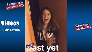SCREAM LIKE A GIRL COMPILATION 2017 - Best Funny Videos