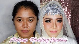 Tutorial Makeup Wedding Flawless | Vlog wedding job #7