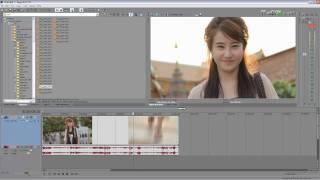 Sony Vegas 9 Tutorials [Thai] :สอนวิธีทำ Slow Motion 3 แบบ