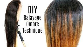 BALAYAGE TECHNIQUE | OMBRE TUTORIAL | + Unboxing New Star Virgin Hair