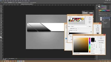 Photoshop Tutorial Simple web Banner design