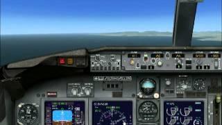 Guida Atterraggio ILS Boeing 737-800 NG FSX Default Italiano