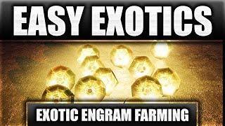 Destiny 2 - EASY Exotic Engram Farm Tutorial (Simple Destiny 2 Farming Method)