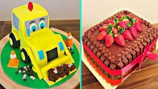 Cake Decorating Technique 2017 - Cake Style 2017 - Amazing Cake Decorating Tutorial Video