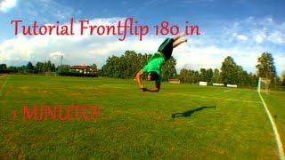 Tutorial Frontflip 180 In Italiano