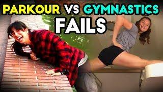 PARKOUR VS GYMNASTICS | Funny Fails | Epic Fail Compilation | FB, IG 2018