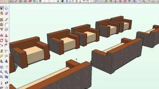 01 Sketchup Nederlands Tutorial Sofa Introductie