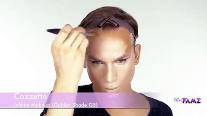 Miss Fame   SuperNatural Blonde Makeup Tutorial