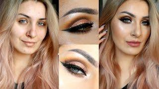 Topli cut crease tutorial | rođendanski glam makeup ♥
