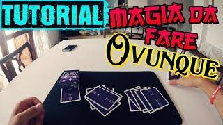 TUTORIAL MAGIA IMPOSSIBILE IMPROMPTU - Magia senza preparazione da fare ovunque con ogni mazzo