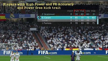 FIFA 16 Knuckleball Power Free Kick Tutorial