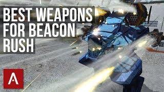 War Robots Tutorial: BEST Weapons for Beacon Rush