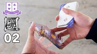 Cardistry for Beginners: Two-handed Cut - Oddstyle 02 Tutorial