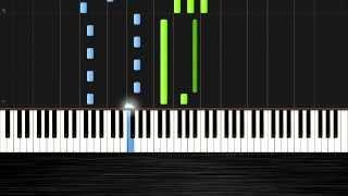 Avicii - Hey Brother - Piano Tutorial By Pluta-X (50% Speed) Synthesia