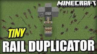 Minecraft PS4 - EASY RAIL DUPLICATOR - Glitch Tutorial ( XBOX / PS3 / WII U )