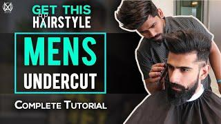 MENS UNDERCUT HAIRSTYLE (Complete Tutorial)   Best HAIRCUT for INDIAN MEN