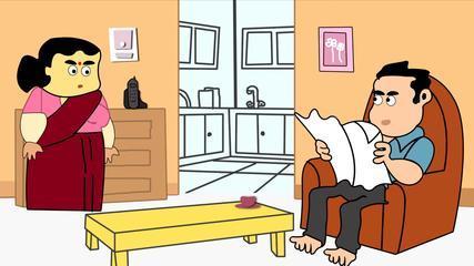 Funny Joke | Husband Wife Joke | Comedy Jokes | Top Fun Videos