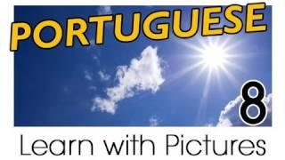 Learn Brazilian Portuguese With Pictures -- Weather Forecast Says...