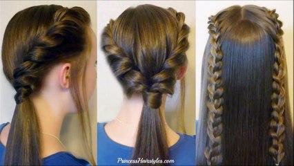 14 Easy Hairstyles For School Compilation! 2 Weeks Of Heatless Hair Tutorials