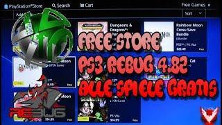 Free Store für CFW 4.82 Rebug | HAN Toolbox MOD auf CFW | Tutorial Deutsch | Rheloads